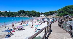Arenal d'en Castell strand