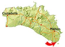 Punta Prima kort
