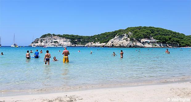 Cala Galdana strand