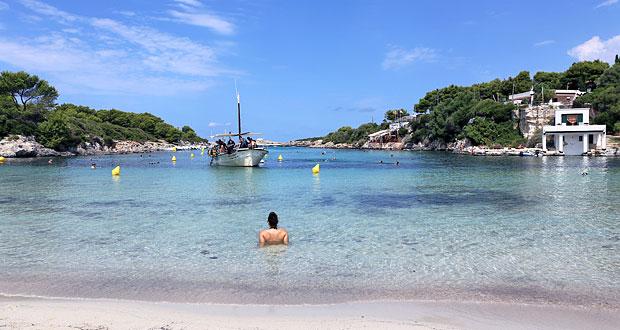 Cala Santandria Menorca
