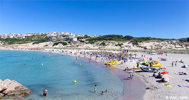 Son Parc Beach - Guide to Son Parc Resort | Menorca